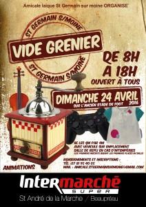vide_grenier affiche Intermarché